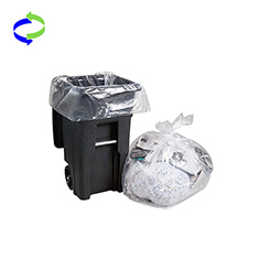 5 Gallon Biodegradable Clear Garbage Bags Small Trash Bags Bin Liners