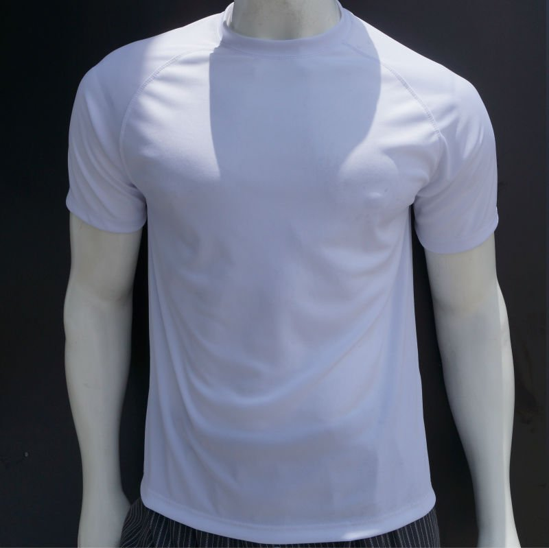 T-shirts 100% polyester moisture wicking. 50SPF.