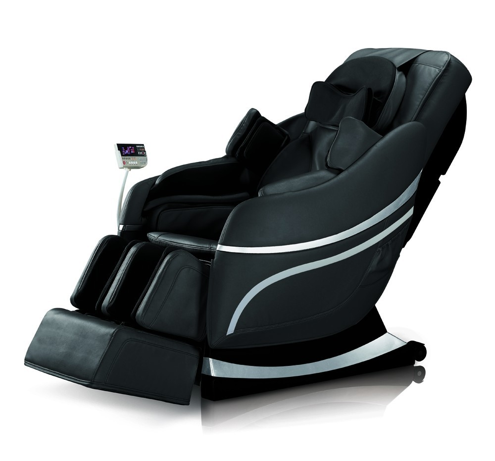 Full Body Air Pressure Luxury Imperator Massage Chair Black