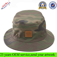 Men Fashion Large Brim Custom Camo Reversible Promotional Bucket Hat