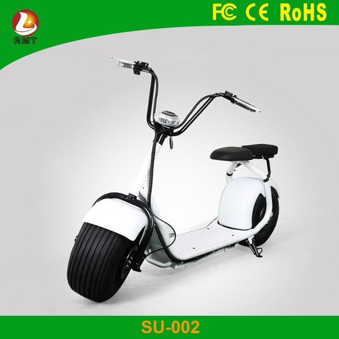 Hot Sale Electric halley scooter with 1000W motor,60V 10AH Lithium Battery fat tyre