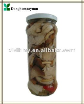 Mixed mushroom in marinate