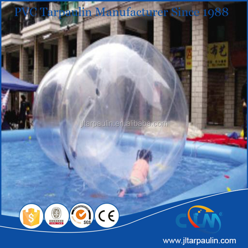 Funny clear inflatable ball wate r ball water walking ball
