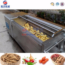 High Efficiency fruit and vegetable /potato cleaning machine