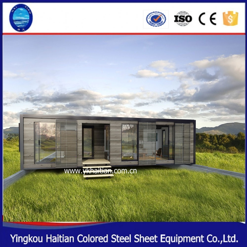 2016 innovative product fast build prefab hotel hot glass house selling simple home container ,prefab flat pack office container
