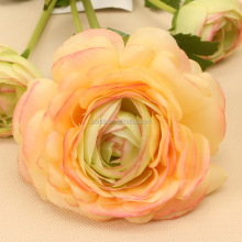 Wholesale Handmade Artificial 4 Head France Peony Wedding Bedroom Flower Decoration