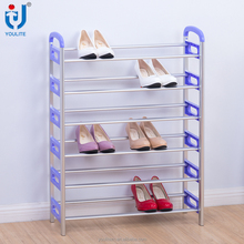 Wholesale cheap modern metal shoe rack designs