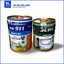 911 two component polyurethane waterproof coating for underground