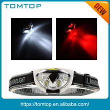 Headset 1200 Lumens LED Headlamp for Camping with Waterproof Function