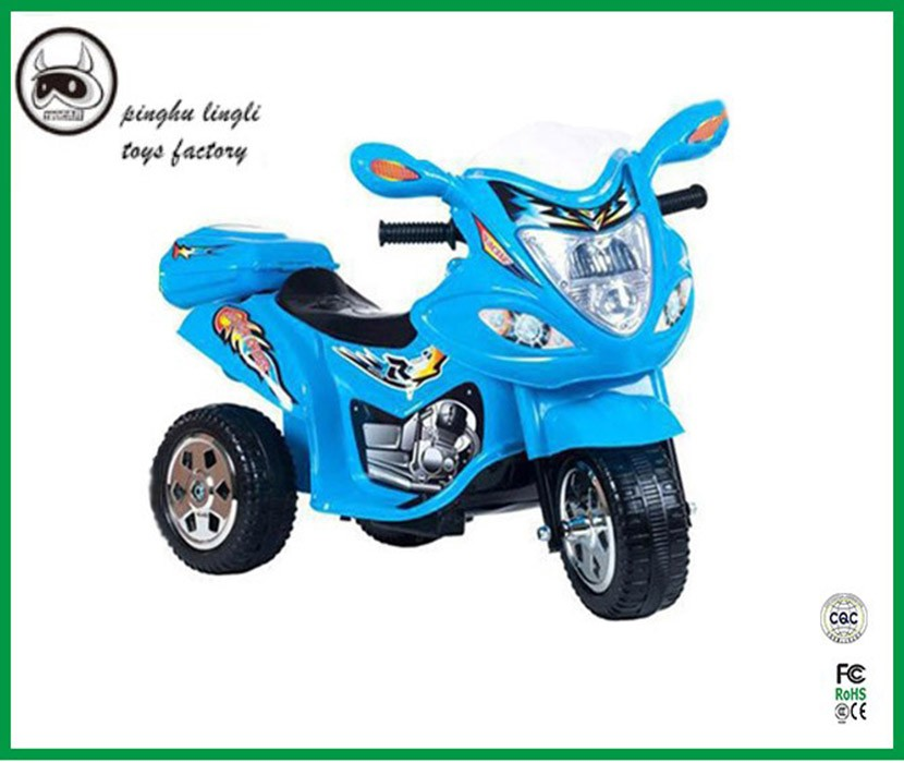 Professional design China kids electric ride on plastic three wheel motorcycle for kids
