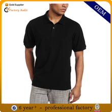 Design black polo shirt, mens retail polo shirt