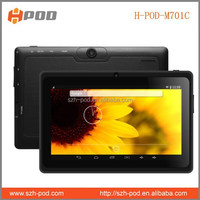 mid q8 custom tablet pc high quality bluetooth dual core cpu wifi 512mb ddr 8gb memory made in china