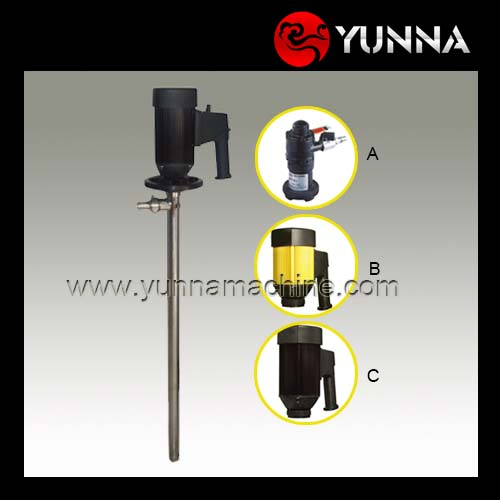 Electric motor for barrel pumps/ Strong acid pump/ High viscosity screw drum pumps