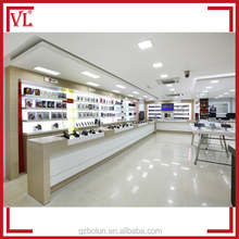 Most popular mobile phone store shop furniture decoration