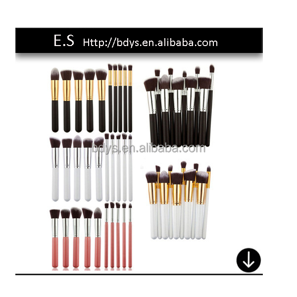 <strong>Beauty</strong> needs custom multi color professional 10 pcs makeup brush