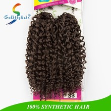 hot selling crochet braid MODEL JUMPY WAND CURL cheap synthetic hair with drop shipping