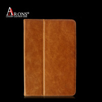 First layer cow leather case for ipad mini cover for ipad mini 2