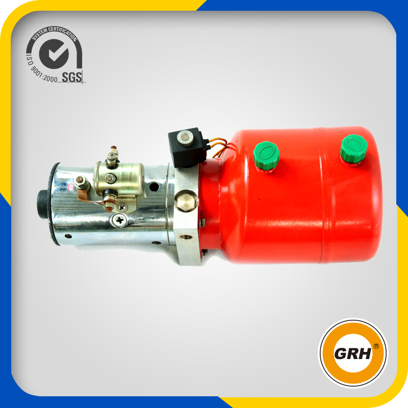 hydraulic power unit for dumping truck covering