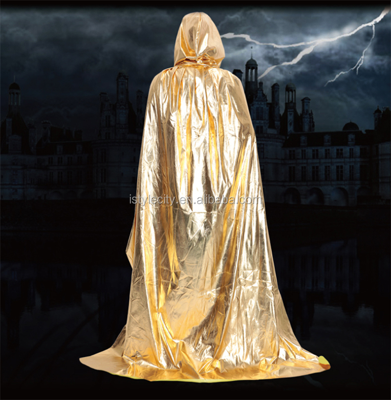 Unisex Halloween Adult Hooded Cloak Costumes Role Play