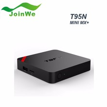 T95n Android Tv Box Amlogic S905 Quad Core 2G+8G Kodi android tv box digital satellite receiver