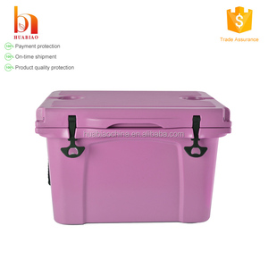 wholesale transport rotomolded polyurethane travel hard cooler box