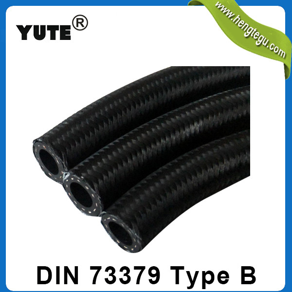 DIN 73379 low pressure cotton over braided fuel hose