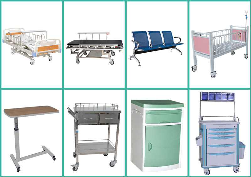Hot selling different types of hospital beds icu for Different type of beds