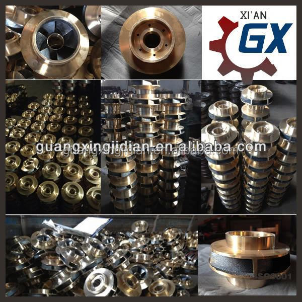 High quality brass impeller for pumps
