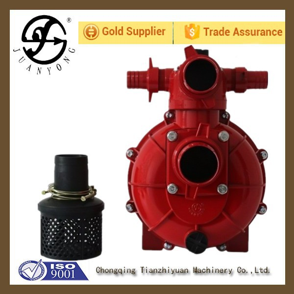 China supplier fire fighting usage red 3 Inch High Pressure Diesel Water Pump