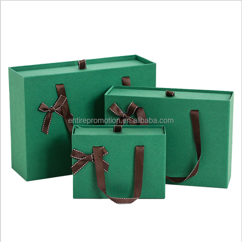 creative folding gift box portable folding paper packaging box garment/handbag box