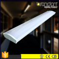China manufacturer Dimmable supermarket office hospital linear Surface Wall Mount T5/T8 Fluorescent LED Wraparound Fixture