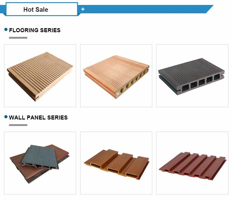 Pvc bois plastique composite ext rieur mur panneau wpc for Plancher exterieur plastique