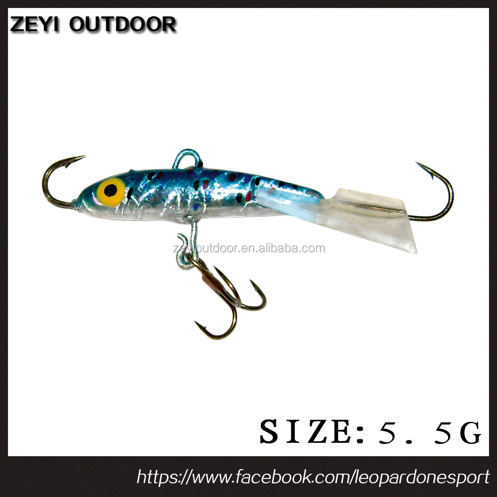 ICE FISHING JIGS LURES BAIT JIGGING TACKLE