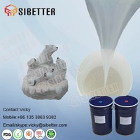 Eco Friendly Mold Making RTV-2 Silicone Rubber for Statue & Sculpture Mold Making