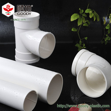 Low cost long service life civil building drainage plastic pvc pipe fittings , pvc plumbing pipe fitting