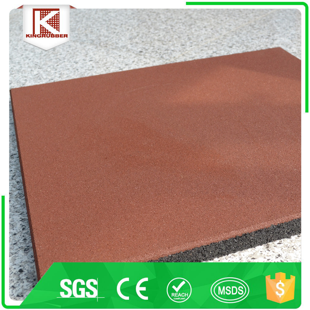 Wearing resistant for the construction rubber proof tiles