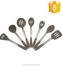 FDA/LFGB standard eco-friendly Silicone Kitchen Tools utensils cooking set