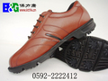 B&G OEM new design leather material men Golf Shoes