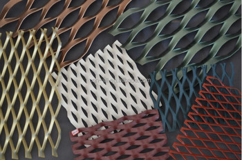 Decoration expanded metal mesh /aluminium expanded metal mesh