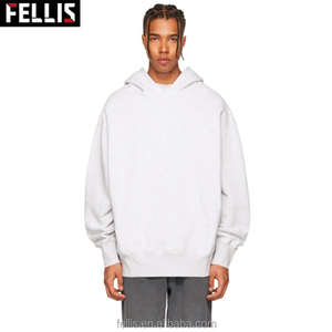 Cheap Good Quality 100% Cotton Hoodies Mens Plain White Hoodie