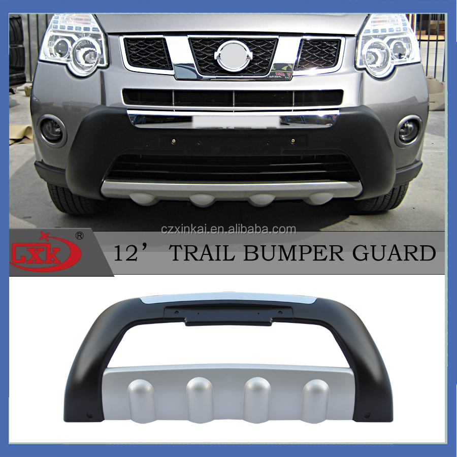 XTRAIL 2012 Car accessory Plastic front and rear bumper guard