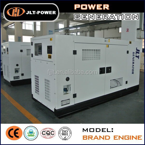 China silent type 200kva industrial diesel generator set with canopy