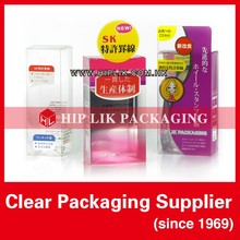 Plastic Cosmetic Packaging Box
