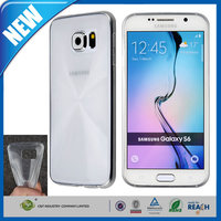 C&T Popular fashion soft gel flexible protective tpu matte case for samsung galaxy s6