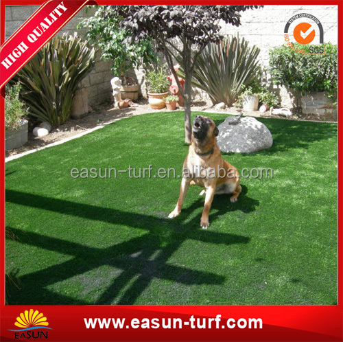 Eco-friendly outdoor pet artificial grass with best price