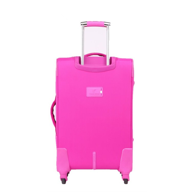 New popular trolley luggage made in china travel soft luggage sets best selling customized travel 3pcs set suitcase