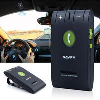 SAVFY Bluetooth 4.0 Multipoint Speakerphones Hands-Free Car Kit