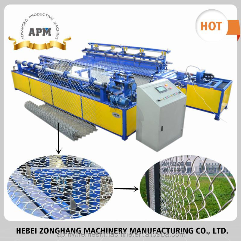 APM Chain Link Fence Machine for Puller Stretcher