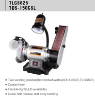 TLGS625 Low heat noise low vibration mini bench grinder sander