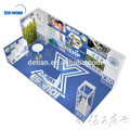Detian Offer 3x6m backdrop exhibition booth display stand